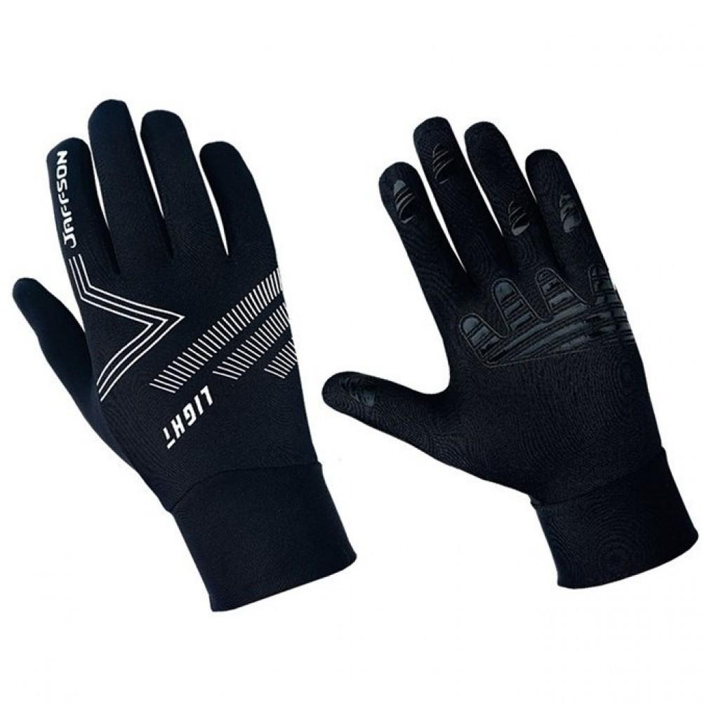 Велоперчатки с пальцами JAFFSON WCG43-0481